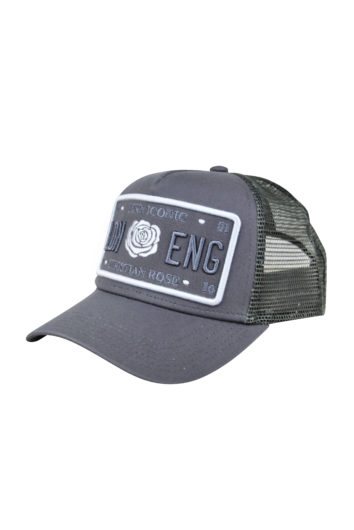 Christian Rose - Iconic Plate Cap - Grey