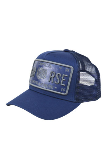 Christian Rose - Iconic Plate Cap - Navy