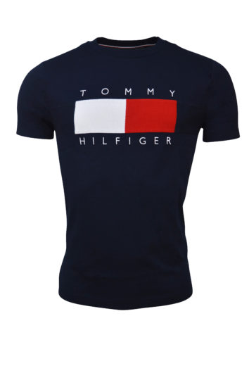 Tommy Hilfiger - Texture Tee - Navy