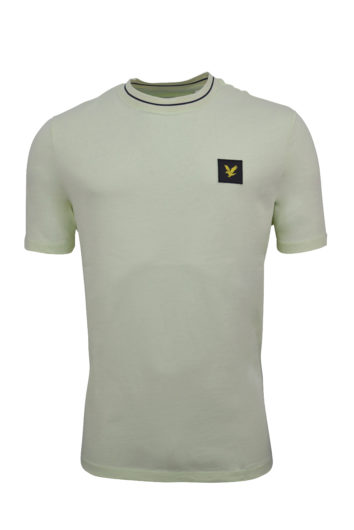 Lyle and Scott - Tipped T-Shirt - Lucid Green