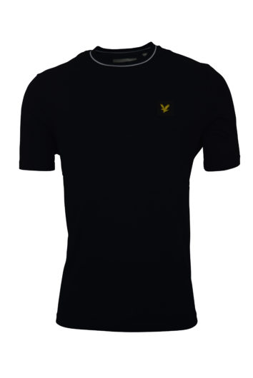 Lyle and Scott - Tipped T-Shirt - Black