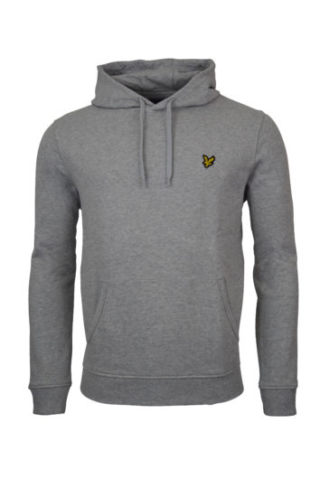 Lyle and Scott - Pullover Hoodie - Grey